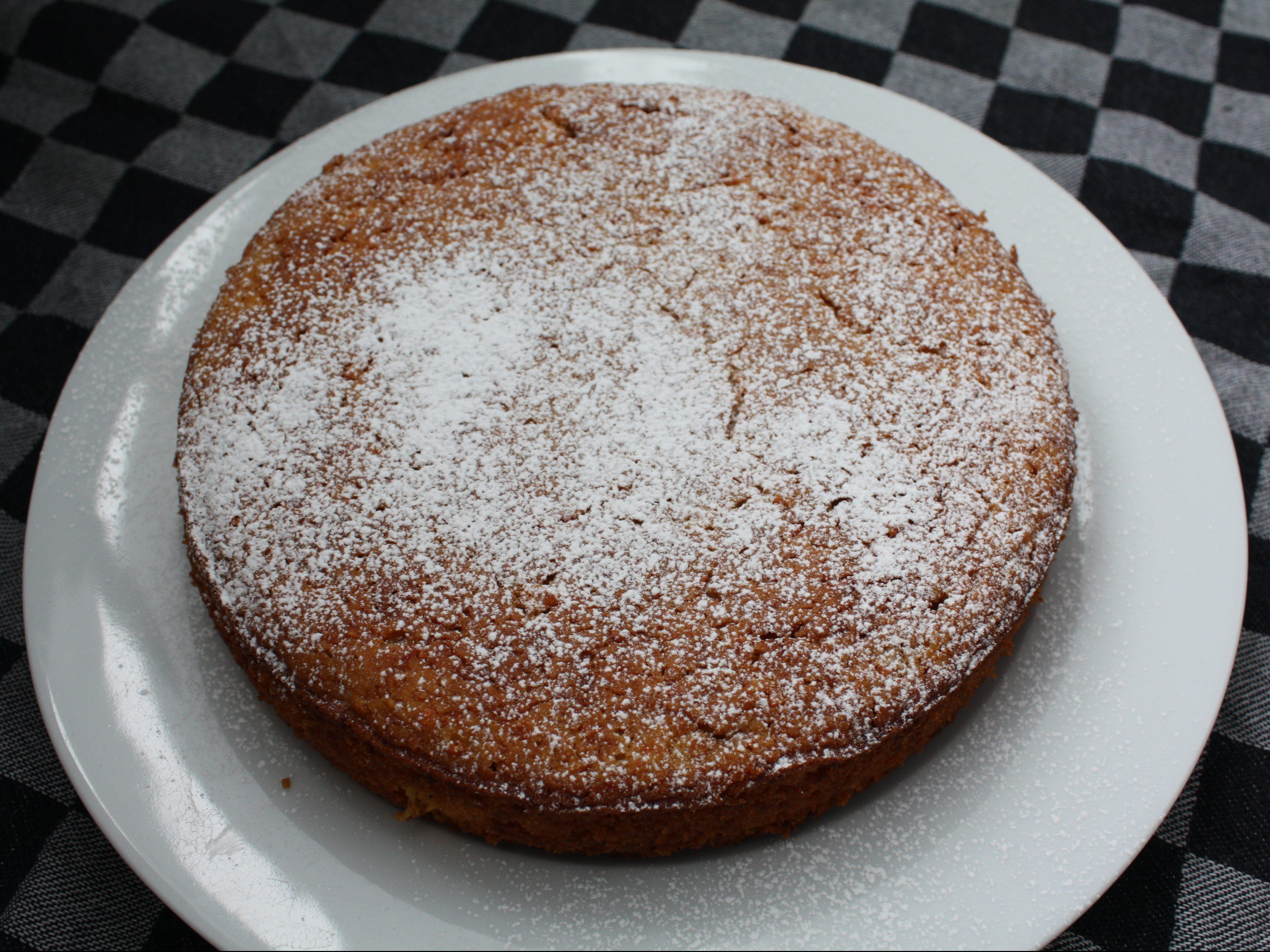 Gluten-free carrot almond cake