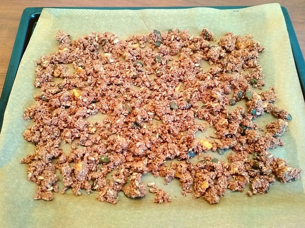 Gluten-free Kitchen Low Carb Granola