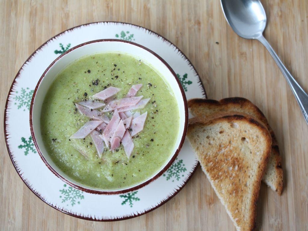 Gluten-free broccoli soup