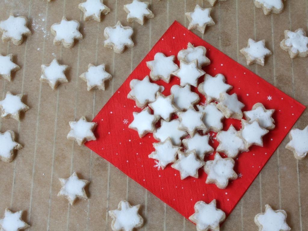 Gluten-free cinnamon star cookies