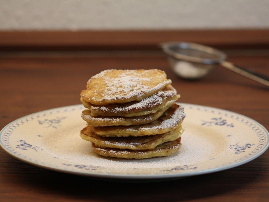 Gluten-free rice pancakes
